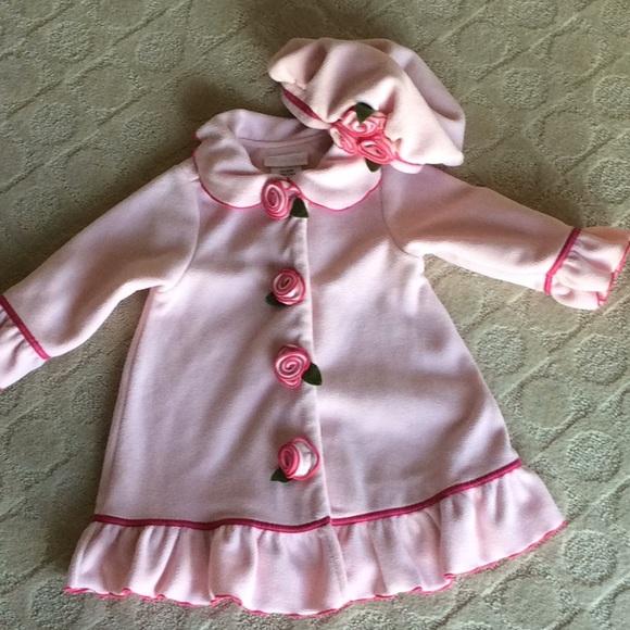 Bonnie Baby Other - Bonnie baby coat and hat set 9f09dfa760d